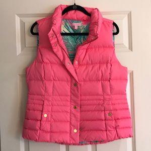 Lilly Pulitzer pink vest